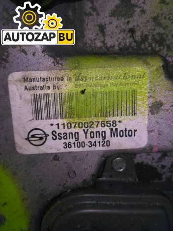 АКПП SSANGYONG ACTYON NEW D20DTF