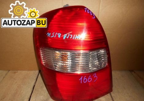 Левый задний фонарь Mazda Familia BJ5W