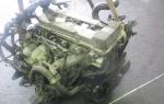 Двигатель NISSAN PRESAGE NU30 KA24DE