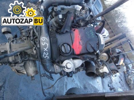 Двигатель дизельный AWX на Volkswagen Passat B5_1,9