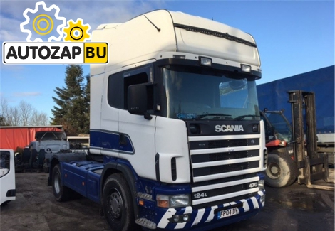 ДВС Scania 4-Series DT12.02