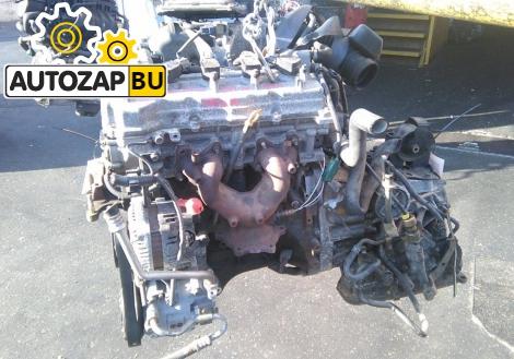 Двигатель на NISSAN WINGROAD Y11 QG18DE