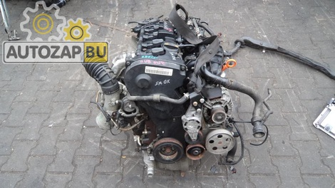 Двигатель на AUDI A4 B7 2.0 TFSI BWE