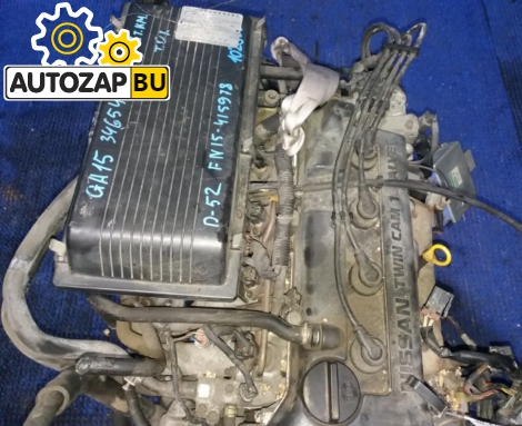 Двигатель на NISSAN PULSAR/ WINGROAD FN15 GA15DE