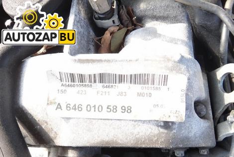 Двигатель MERCEDES-BENZ W211 646.821