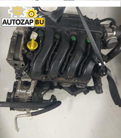 Двигатель Renault Megane II K4M760