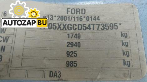 Двигатель Ford Focus II/C-max 1.6 (115л.с.) HXDA(B)