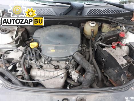 Двигатель Renault Clio II (1998-2005)