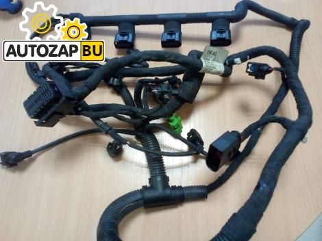 Проводка двигателя Volkswagen Passat B6 BZB